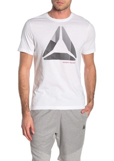 Reebok Front Graphic Crew Neck T-Shirt