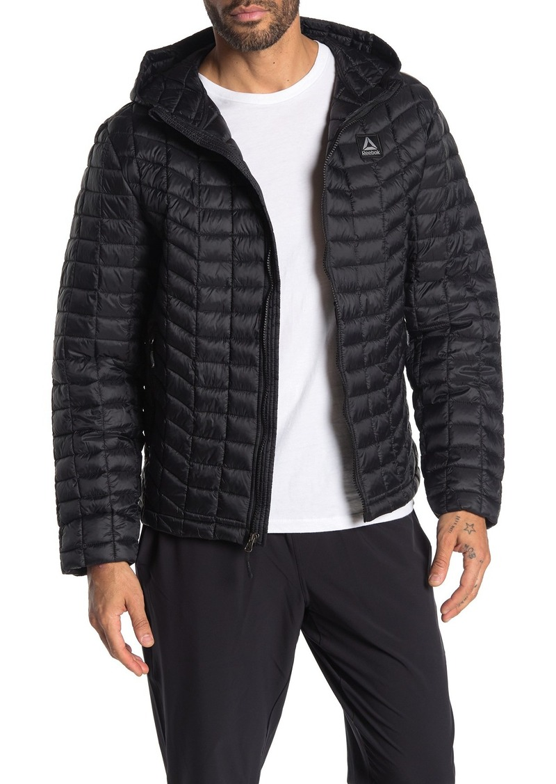 Reebok Glacier Shield Quilted Hooded Jacket