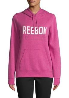 Reebok Graphic Cotton-Blend Hoodie