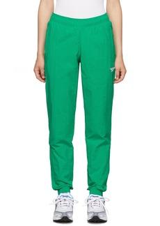 Reebok Green Classics Vector Track Pants
