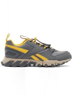 Reebok Grey & Yellow DMXpert Sneakers