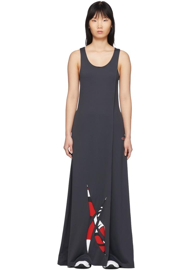 Reebok Grey Collection 3 Long Tank Dress