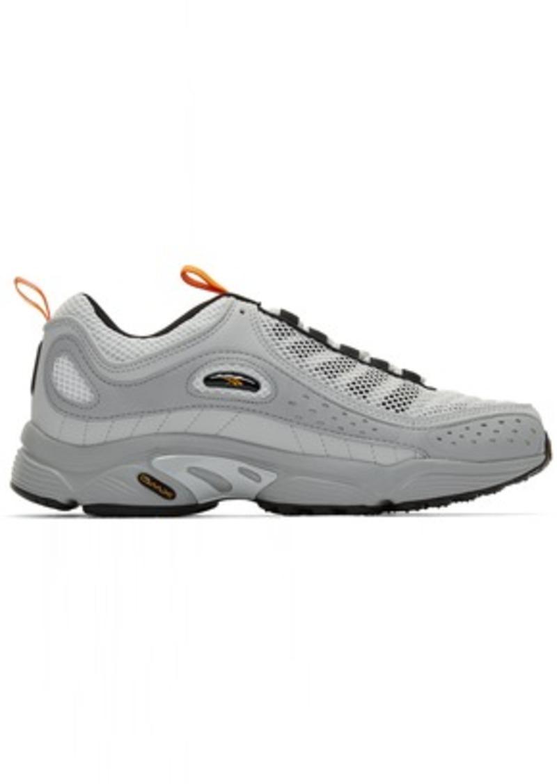 Reebok Grey Daytona DMX II Sneakers