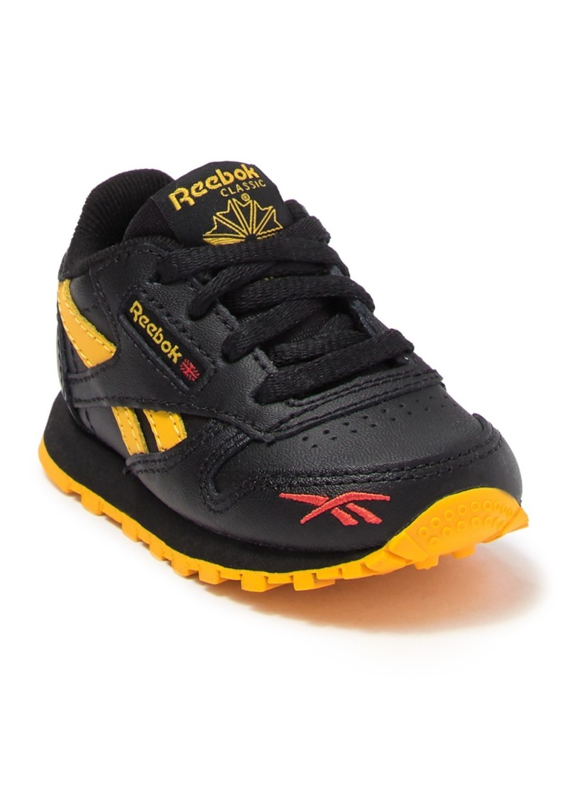 Reebok Leather Sneaker (Baby & Toddler)
