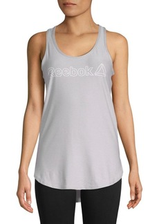 Reebok Legend Logo Graphic Tank Top