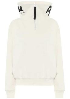 Reebok Logo cotton-jersey sweatshirt