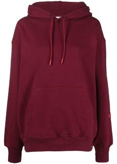 Reebok logo-embroidered drawstring hoodie