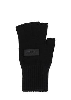 Reebok Logo Fingerless Gloves