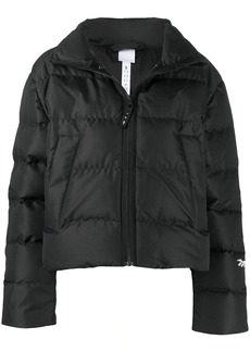 Reebok logo-patch puffer jacket