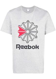 Reebok logo patch T-shirt