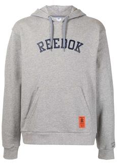 Reebok logo-print hoodie