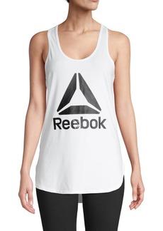 Reebok Logo Scoopneck Tank Top