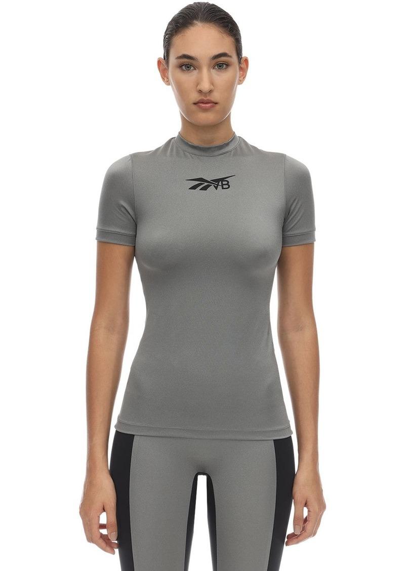 Reebok Logo Techno Jersey T-shirt