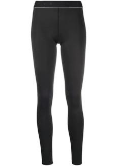 Reebok logo waistband leggings