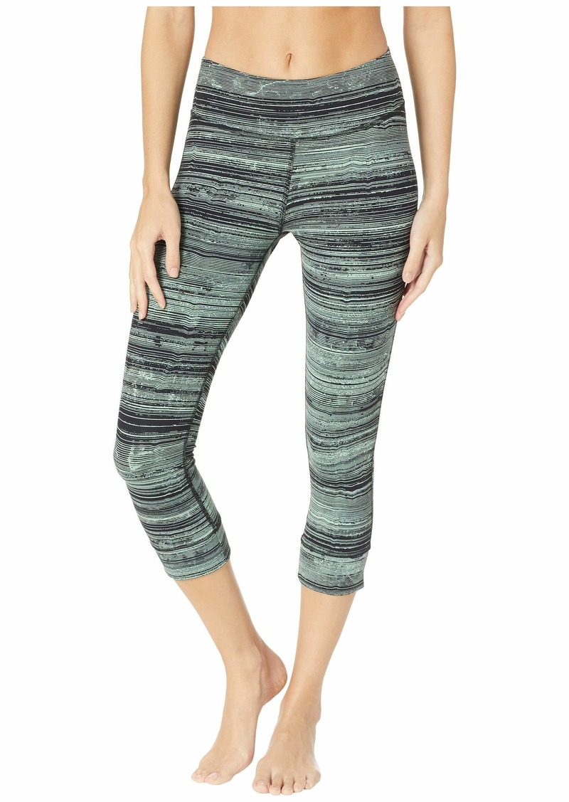 bce93209 Reebok Lux 3/4 Tights - Stratified Stripes | Casual Pants