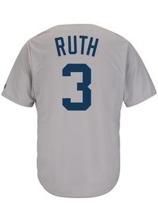 Reebok Majestic Men's Babe Ruth New York Yankees Cooperstown Replica Jersey