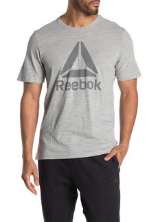 Reebok Marble Brand Logo T-Shirt