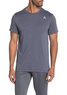 Reebok Melange Short Sleeve Tech T-Shirt