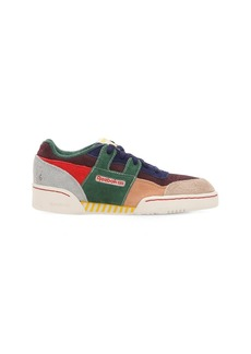 Reebok Multi Color Suede Sneakers