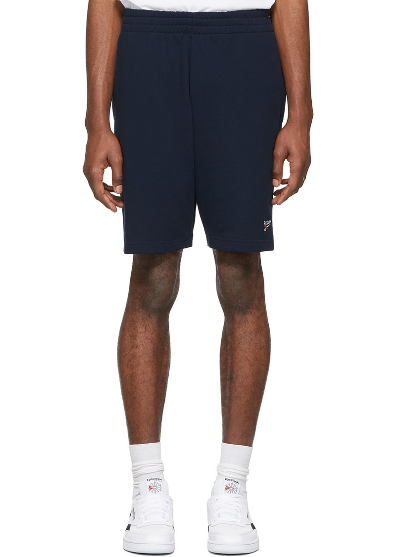 Reebok Navy Classic Vector Shorts