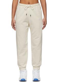 Reebok Off-White Jogger Lounge Pants