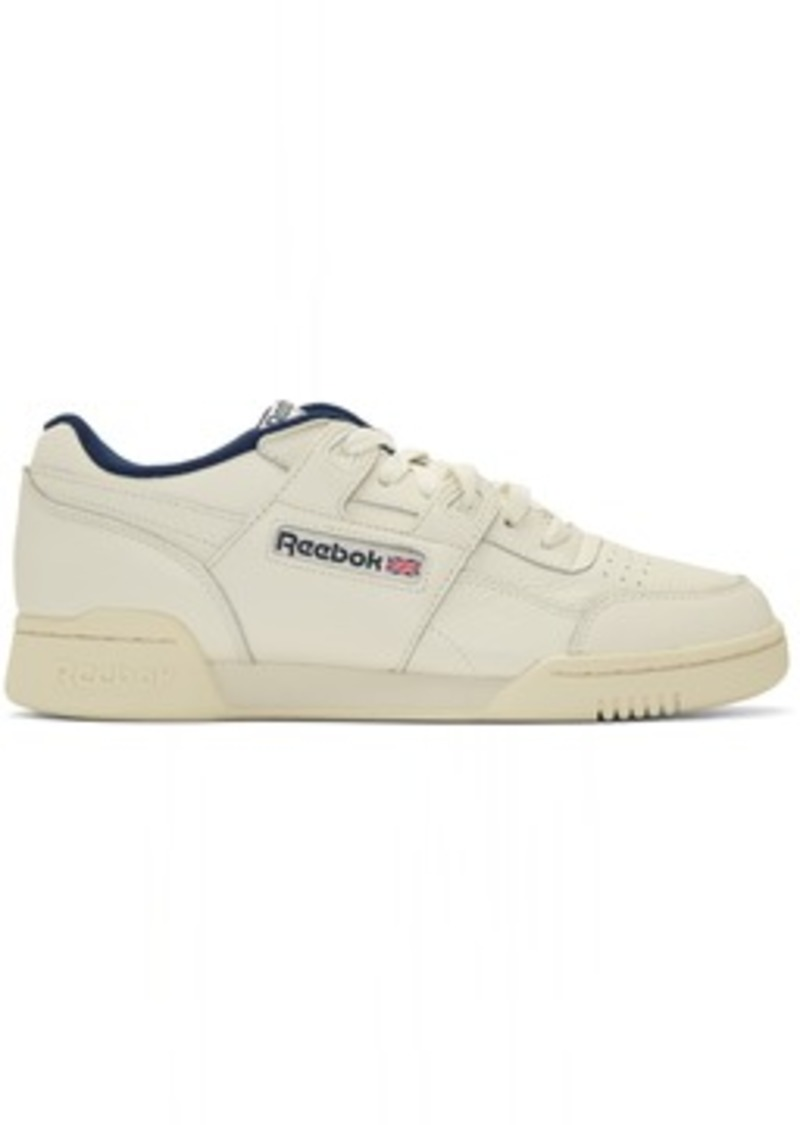 Reebok Off-White Workout Plus MU Sneakers
