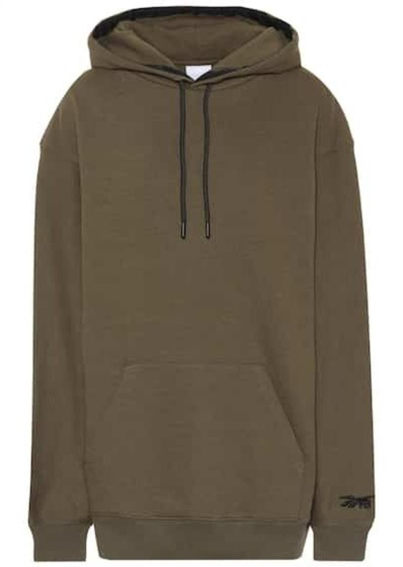 Reebok Oversized cotton hoodie