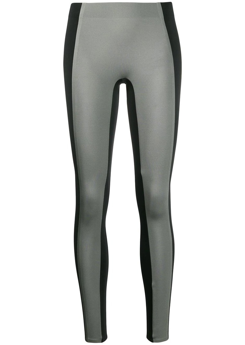 Reebok panelled performance leggings