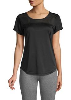 Reebok Perforated Short-Sleeve Top