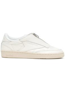 Reebok perforated zip sneakers