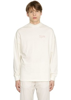 Reebok Printed Heavy Jersey Long Sleeve T-shirt