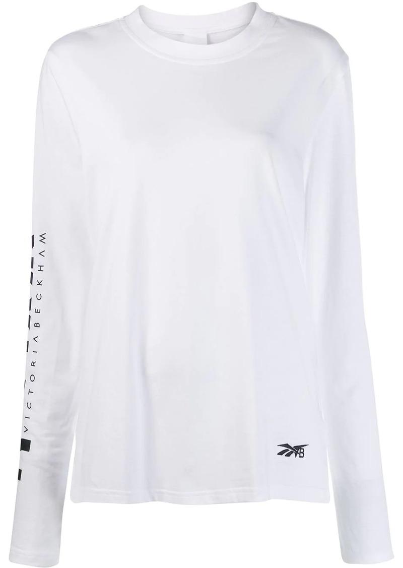 Reebok printed jersey T-shirt