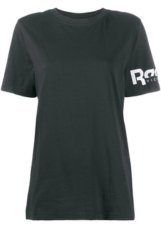 Reebok printed logo performance T-shirt