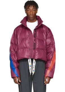 Reebok Purple Collection 3 Ballfiber Jacket