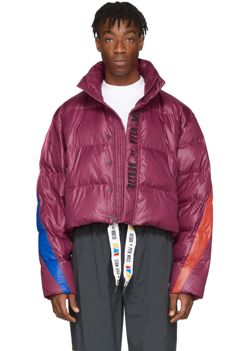 Reebok Purple Collection 3 Ballfiber Jacket