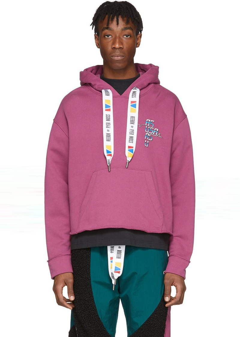 Reebok Purple Collection 3 Franchise Hoodie