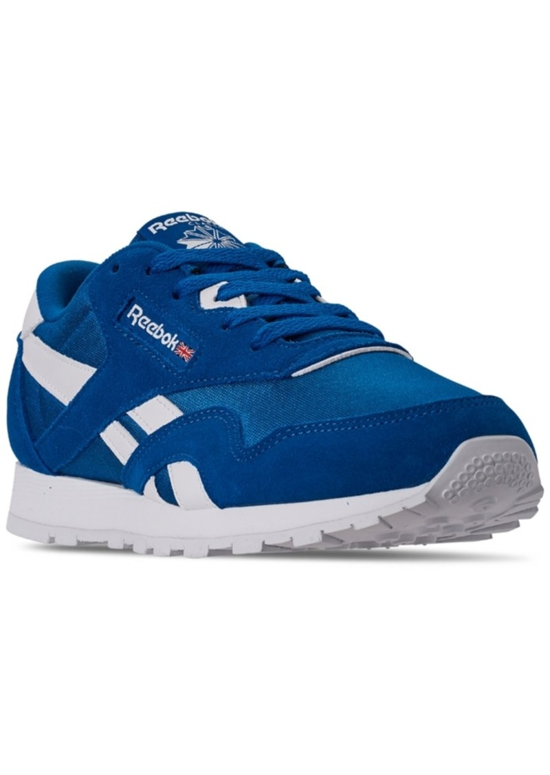Reebok Big Boys Classic Nylon Casual Sneakers from Finish Line