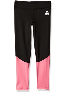 Reebok Big Girls' Active Legging 3013-Azalea Pink
