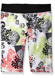 Reebok Big Girls' AOP Bike Short