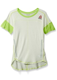Reebok Big Girls' Dropped Shoulder Top