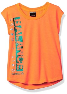 Reebok Big Girls' Girly Tee Shirt