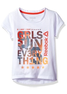 Reebok Girls' Big Run T-Shirt  12/14