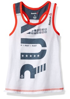 Reebok Girls' Big Run Tank  12/14