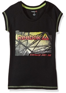 Reebok Big Girls' Yoga Pose T-Shirt