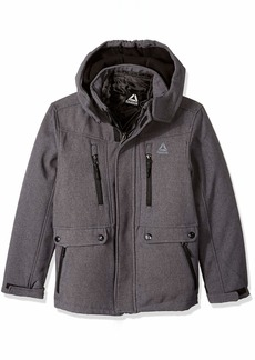 Reebok Boys' Big Active Systems Jacket with Zip Pockets
