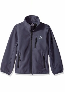 Reebok Boys' Little Active Softshell Jacket with Sleeve Detail