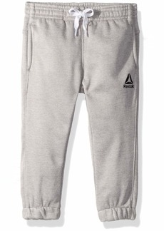 Reebok Boys' Toddler Cationic Brushed Fleece Work Out Pant