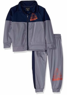Reebok Boys' Toddler Game Day Tricot Bomber Jacket and Jog Pant