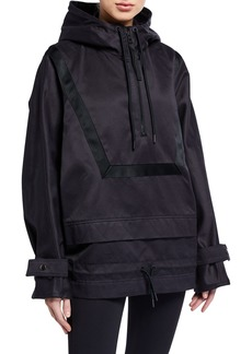 Reebok by Victoria Beckham Hooded 1/4-Zip Anorak Jacket