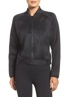 Reebok Cardio Perforated Bomber Jacket